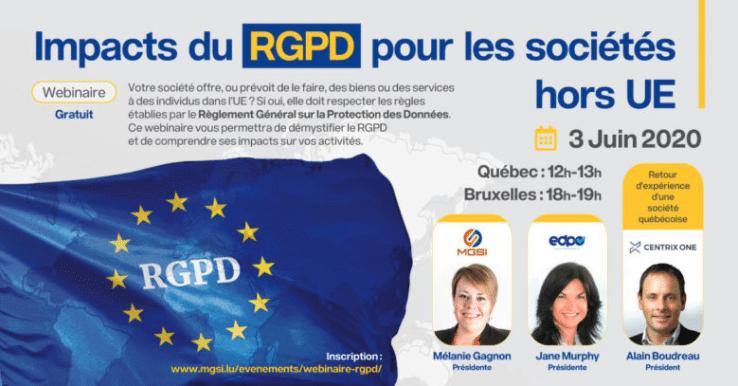 RGPD - Webinaire